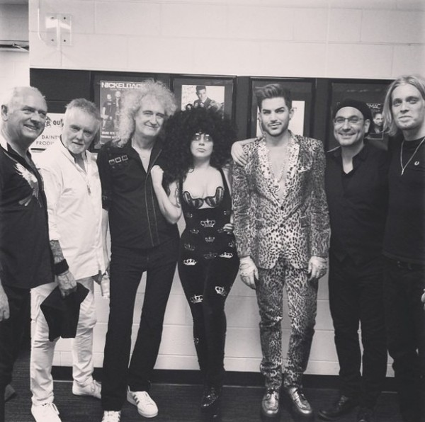 lady-gaga-adam-lambert-and-queen-pose
