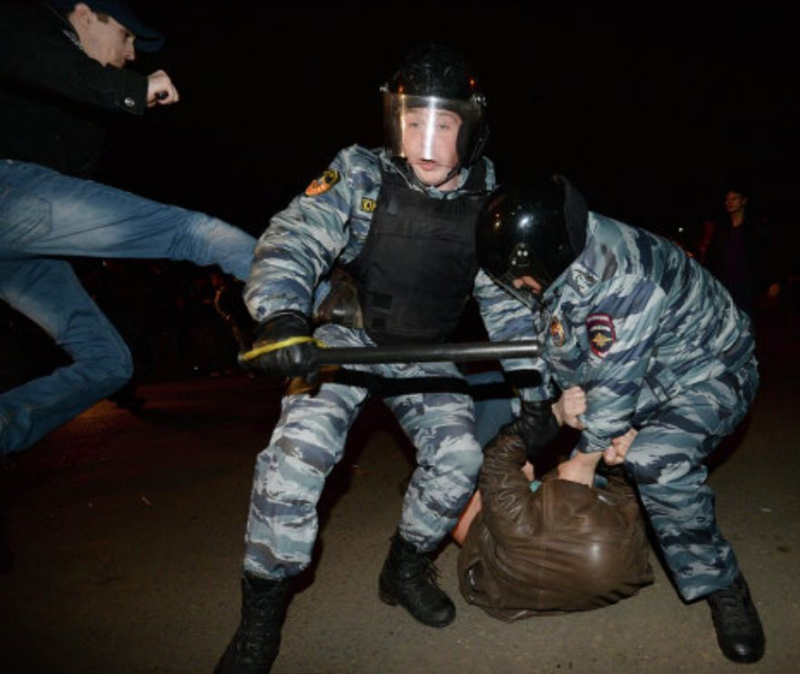 полиция- два на два бирюлёво