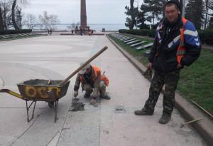 Одесса аллея славы 9 апреля 2013