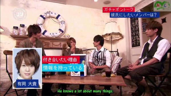 Takaki's boyfriend