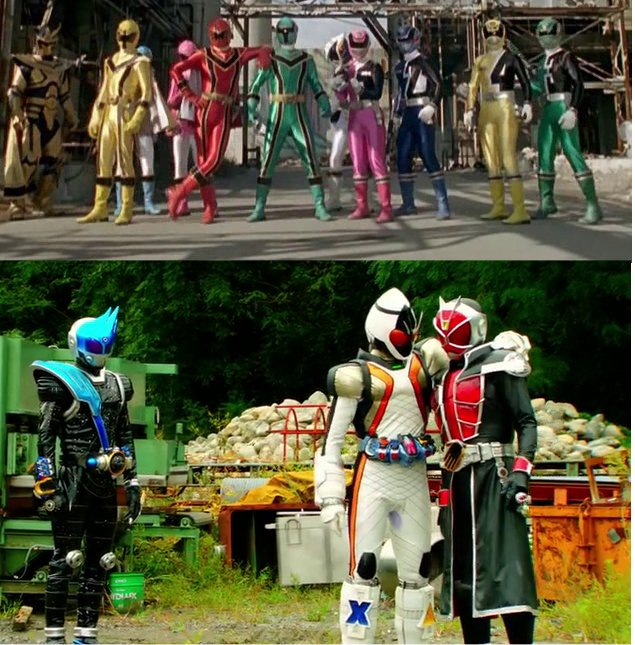Kamen Rider vs Super Sentai - My Voice of Dreams