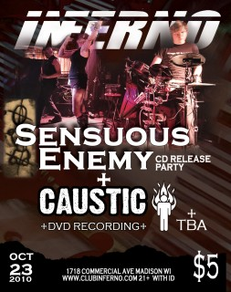 Sensuous Enemy CD release party!