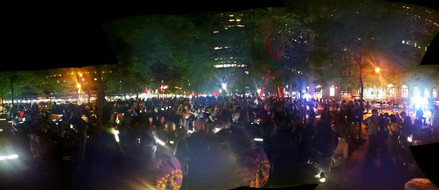 Occupy Wall Street's One Year Anniversary - #S17