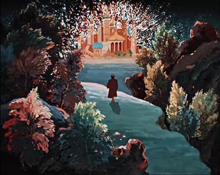 """Дворец (замок) из сказки """"Аленький цветочек"""". Источник картинки"""