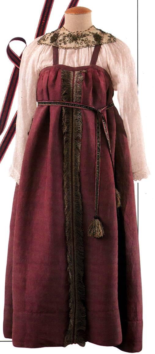 Русские народные костюмы женский