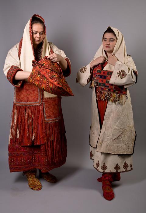 Национальные македонские женские костюмы
