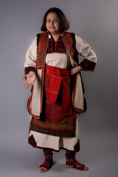 Народная женская одежда Македонии