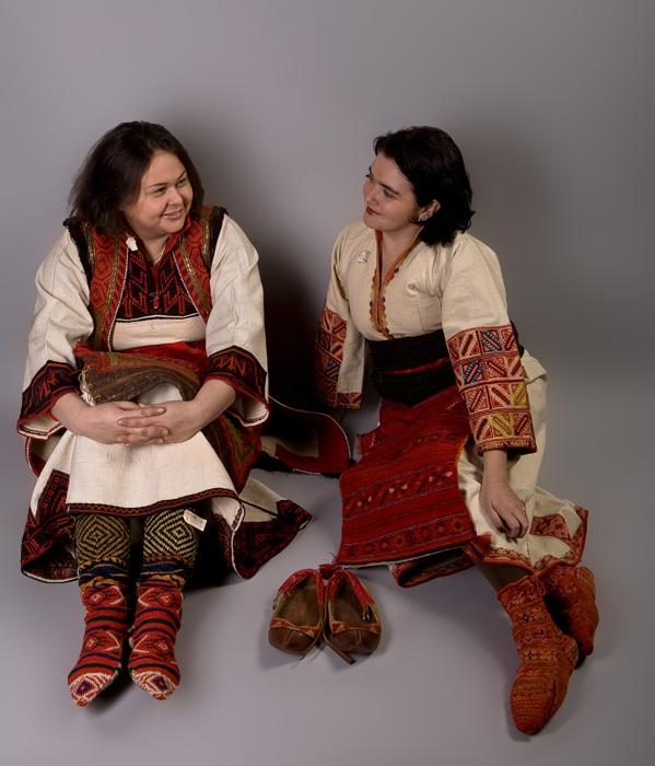 Национальная одежда женщин Македонии