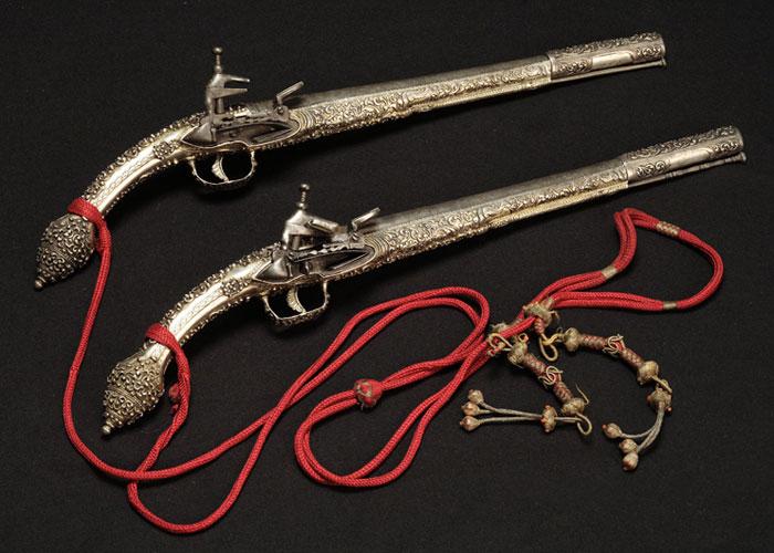 Подарочные гладкоствольные седельные пистолеты «леденице»