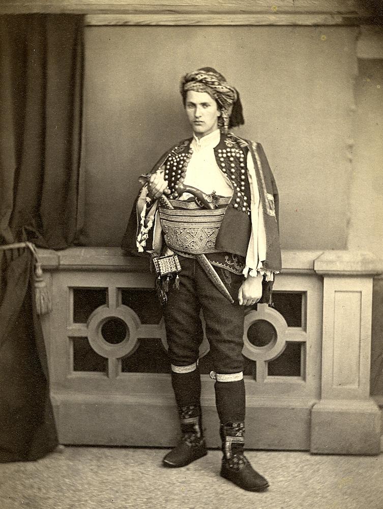 история одного сербского костюма
