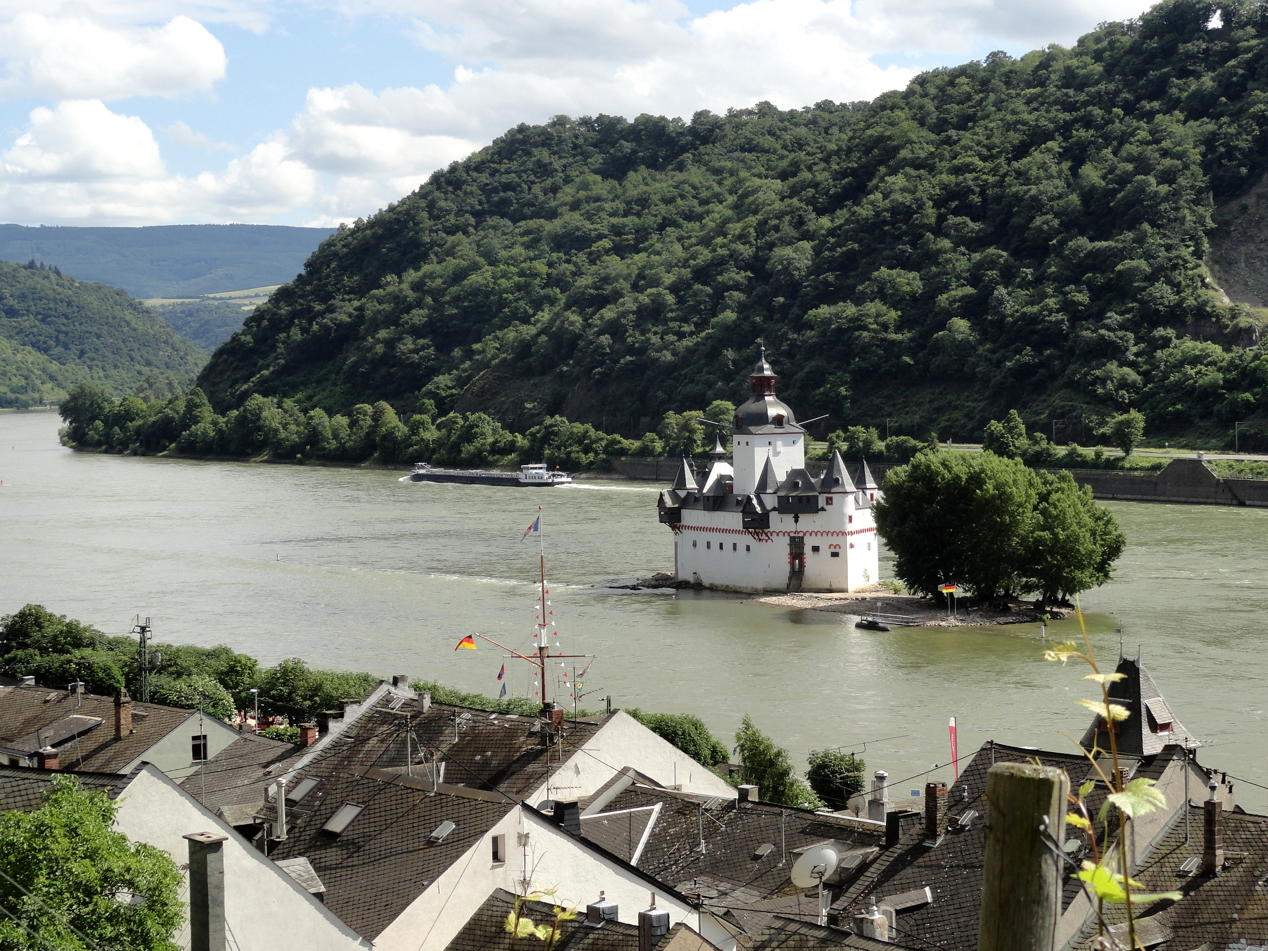 Kaub Rhein