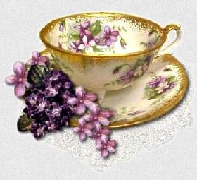 стихи о чае, о чаепитии, фарфоровые чашки, винтаж