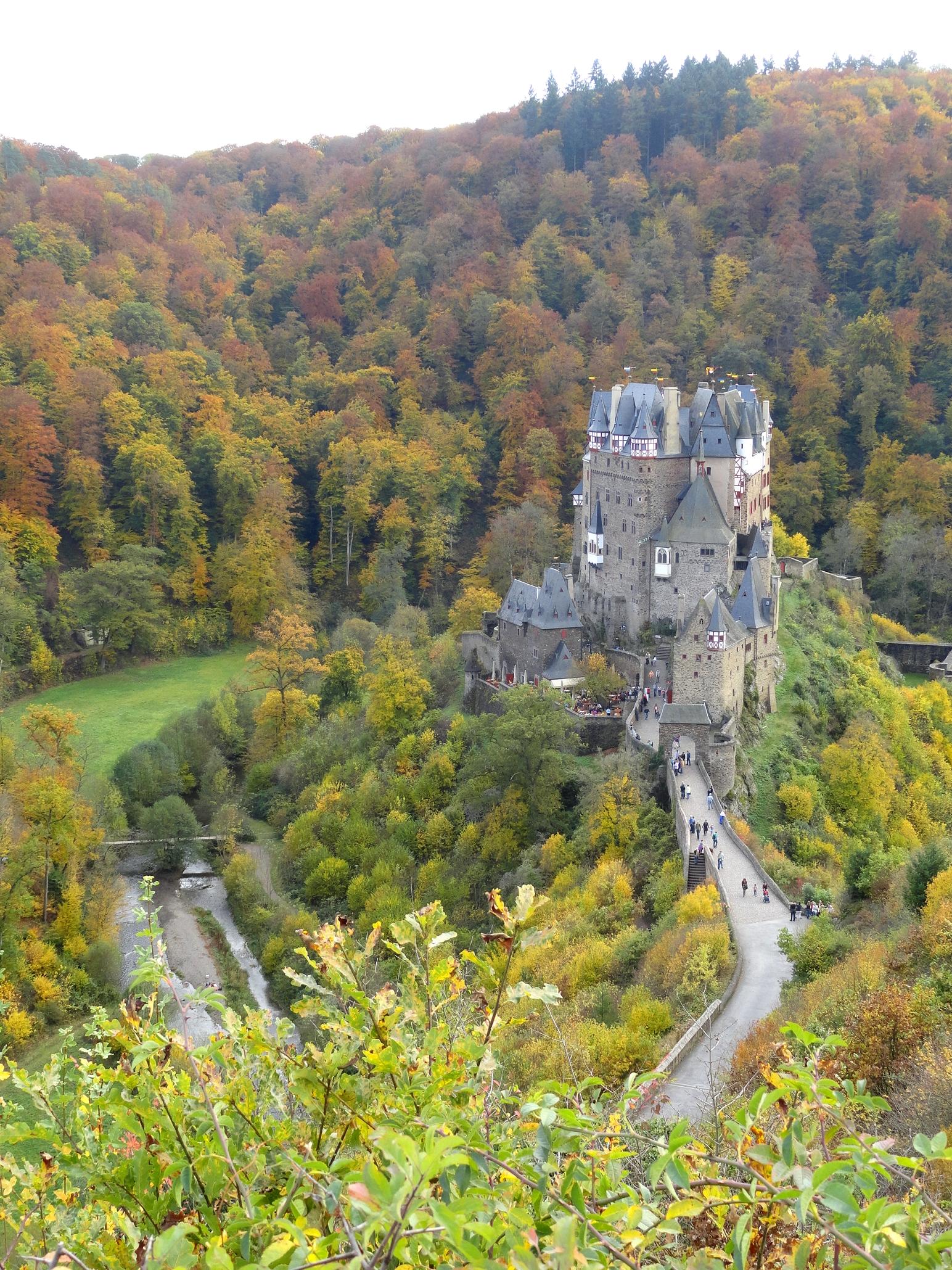 Замок Эльц Burg Eltz история фотографии
