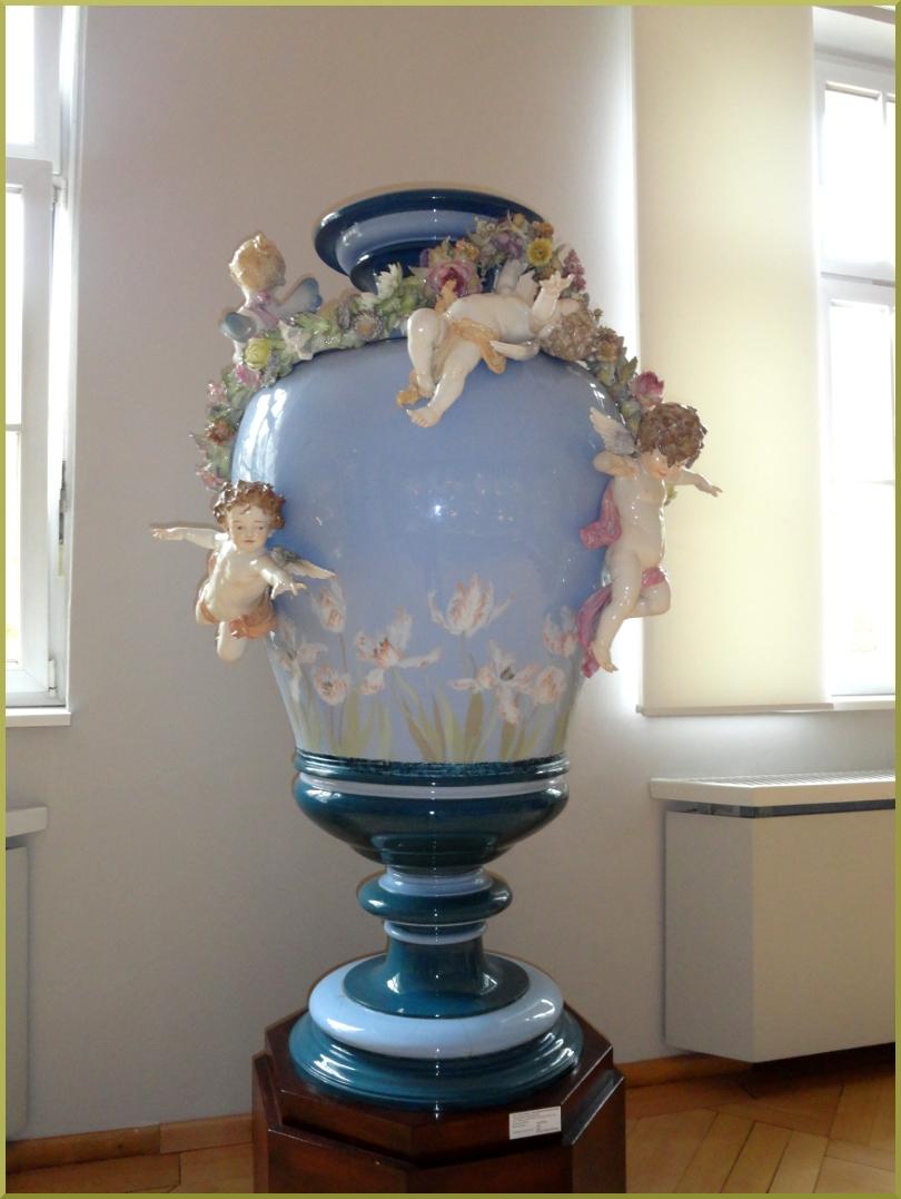 Фарфоровая ваза. Музей Мейсен
