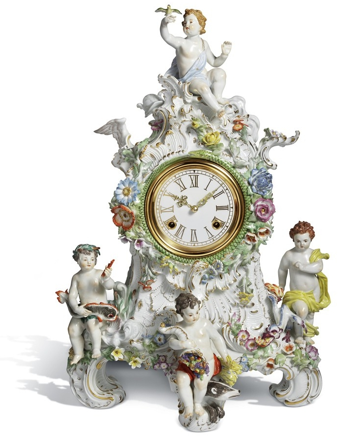 """Uhr """"Die vier Elemente"""""""