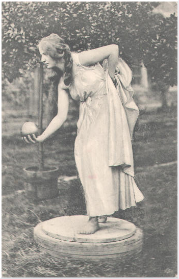 A postcard produced in 1910