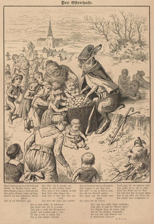 Osterhase Der Bazar1885