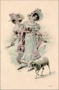 Ostern postkart Munk - 1904