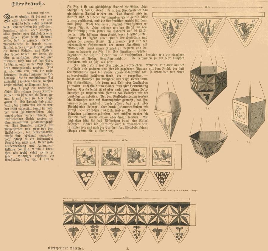 Ostern 1894 Der Bazar