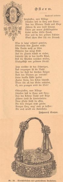 Gedichte zu Ostern 1897