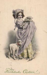 Ostern postkart