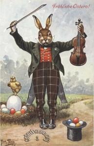 osterhase-Musikant