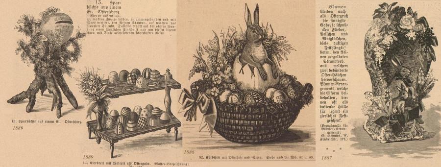 пасхальные традиции пасхальные зайцы оформление  1