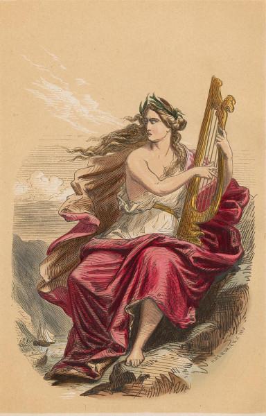 Illustration Lorelei. H. Hendrick