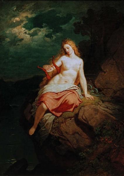 Loreley 1850 Philipp von Foltz