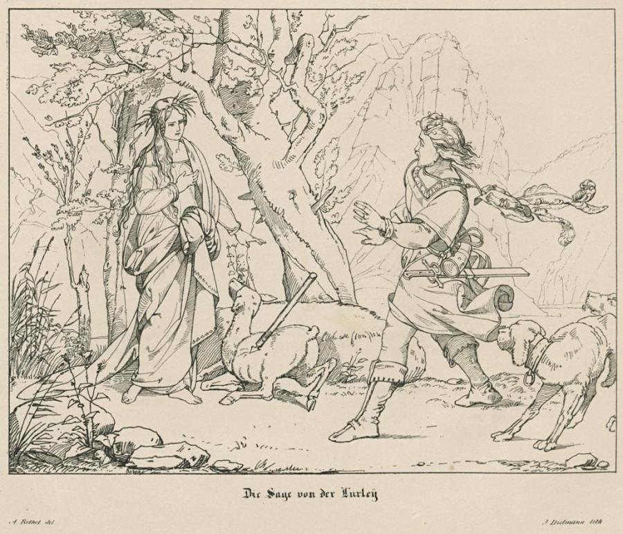 Loreley A. Rethel J. Dielmann 1835