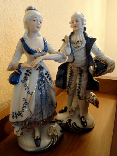 Фарфоровая пара. Rococo.