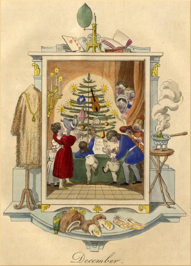 1835 für Wiens Bürgerkinder zum Fixpunkt des Heiligen Abends.
