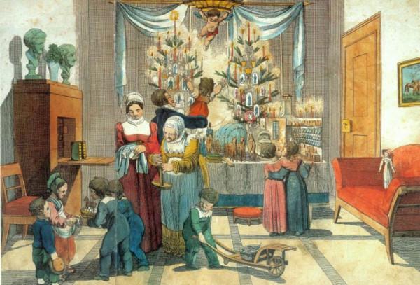 1835 Der Christtag. 1835