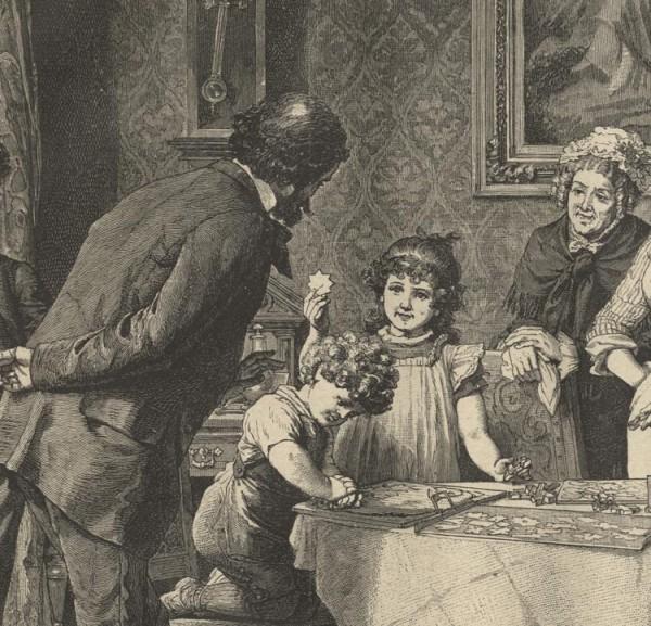 WEIHNACHTSBÄCKEREI TEIG KÖCHIN 1886