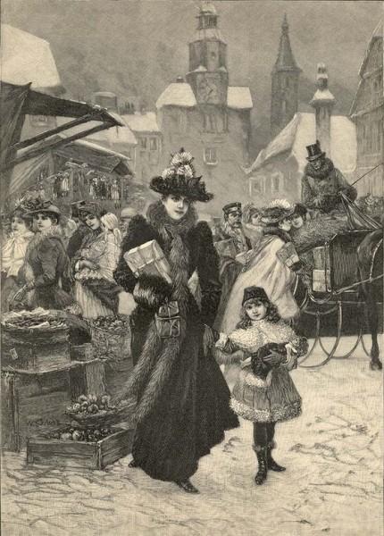 W. Gause. Holzstich aus dem Jahr 1896