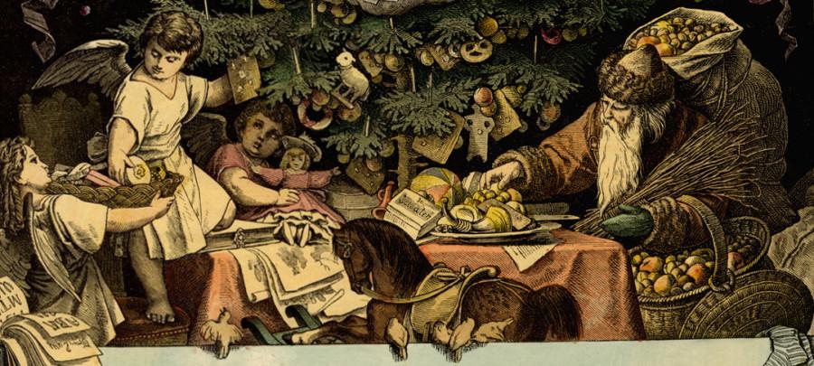 Weihnachtsmann (1877) by Goethezeitportal