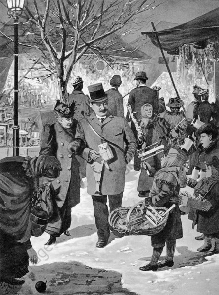 Christmas Market, Berlin Schöbel 1893 3