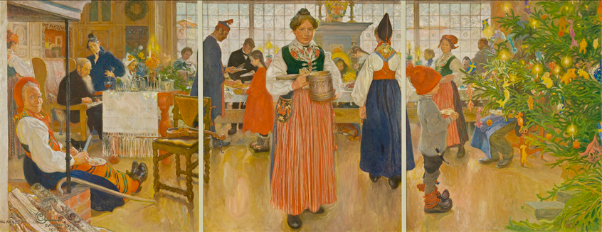 carl_Larsson_Now Its Christmas Again