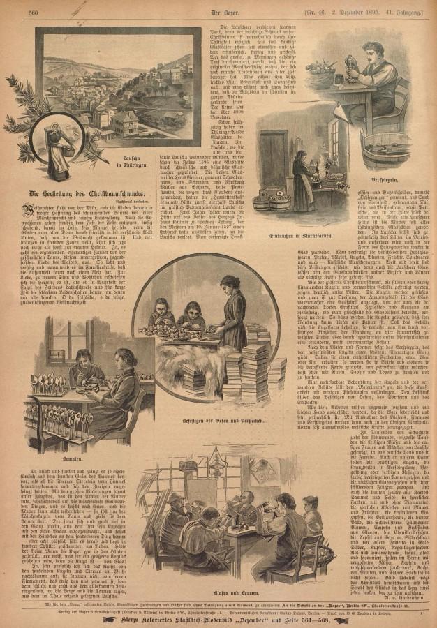 Lauscha Geschichte 1895