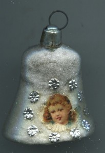 Glas Lauscha Glocke