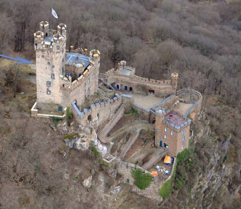 luchtfoto van Sooneck