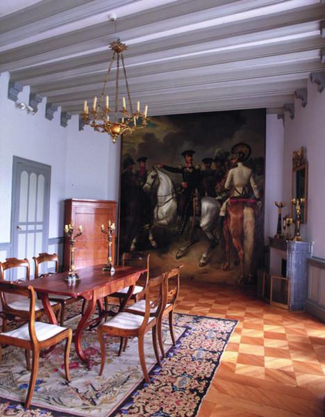 Friedrich Wilhelm III. in der Schlacht bei Kulm am 29. 8. 1813