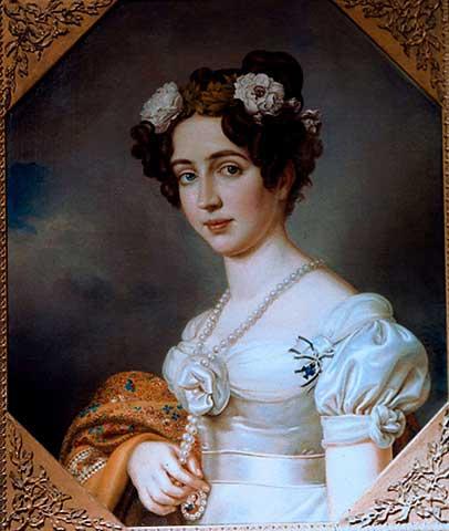 Elisabeth Ludovika, Königin von Preußen, als Braut