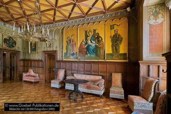 Schloss Stolzenfels_Living room2
