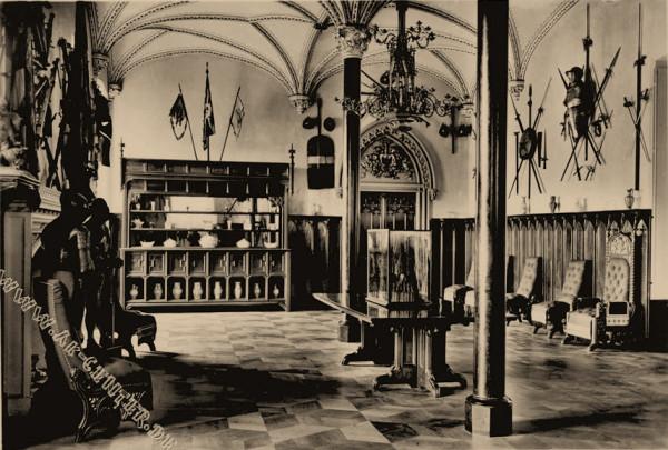 Schloß Stolzenfels Innenanicht Rittersaal2