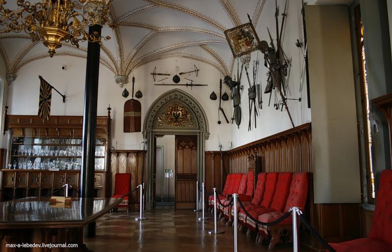 Großer Rittersaal_ Schloss Stolzenfels.