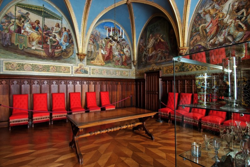 Kleiner Rittersaal_ Schloss Stolzenfels