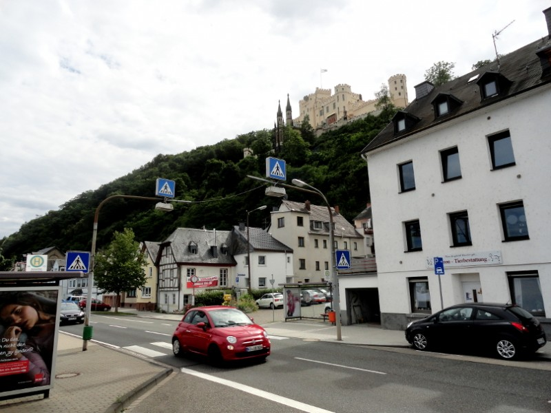 Schloss Stolzenfels in Koblenz-Stolzenfels