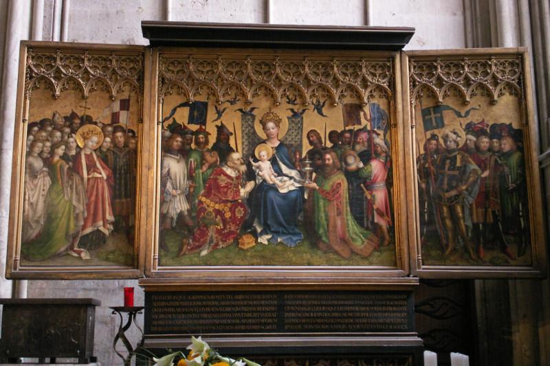 Altar der Stadtpatrone (Stefan Lochner)