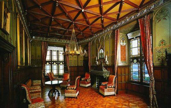 Schloß Stolzenfels, Wohnzimmer der Königin